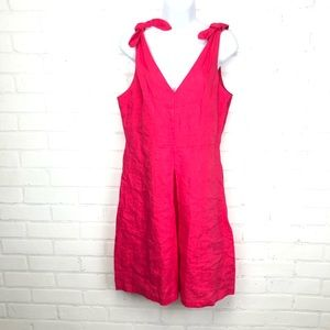 Gap Pink Linen Sundress Dress sz S